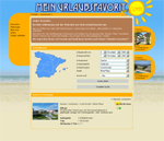 Meinurlaubsfavorit.com - Ferienwohnungen, Ferienhäuser, Villen in Spanien - Buchungssystem/Reservierungssystem